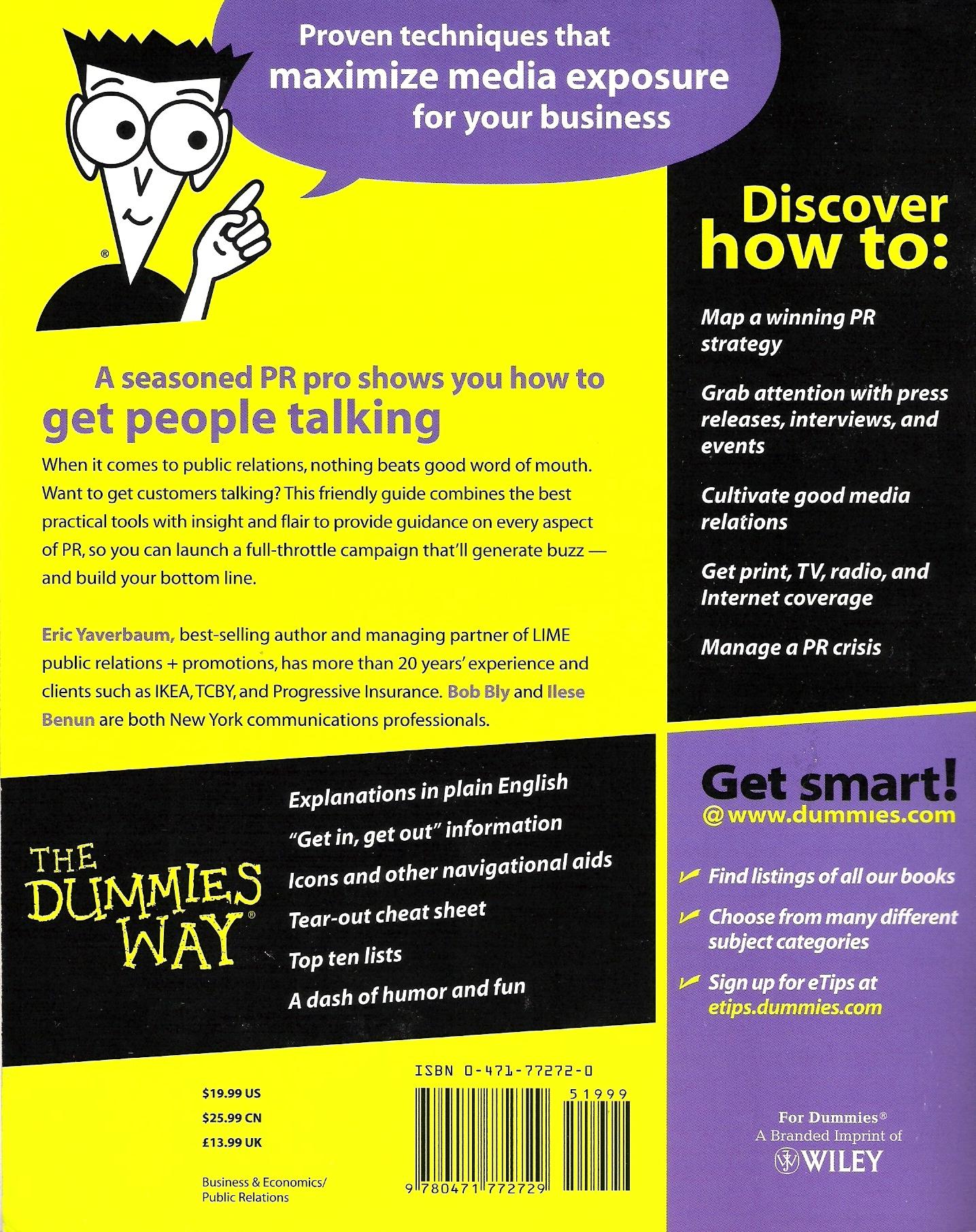 List of Dummies Series Books