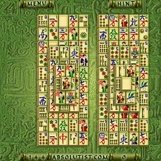 1a Absolutist.com Mahjong(Kyodai) for Palm OS   the review