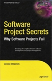 front Software project secrets: why software projects fail   the review