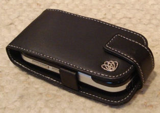 6a Proporta Aluminum Leather case for the Palm Centro   the review