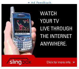 Treo 650 spotted in SlingBox ad