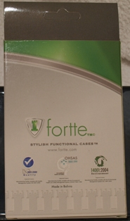 0b Fortte STiL Vertical Pouch for Palm Centro   the review